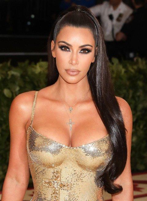STEINRIK: Kim Kardashian, det kanskje mest kjente medlemmet av Kardashian/Jenner-klanen, er verdt 175 millioner dollar.