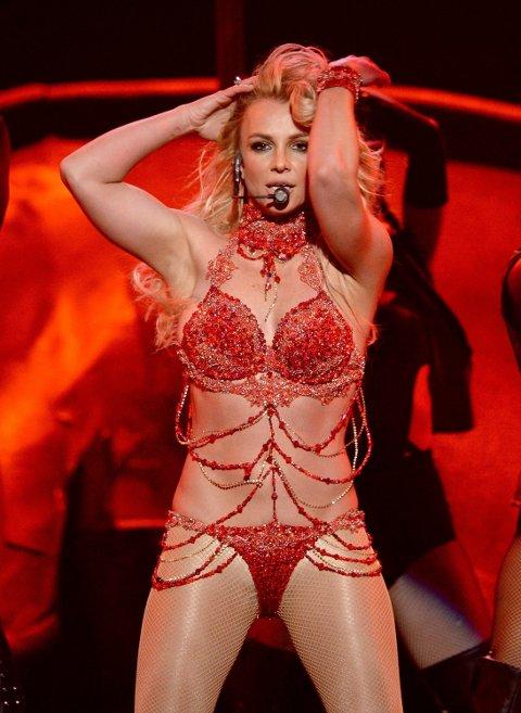 LAS VEGAS: Britney Spears har siden 2008 vært underlagt verge.Her fra scenen under Billboards prisutdeling tidligere i år.