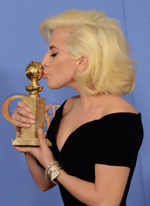 LADY GAGA vant Golden Globe for sin rolle i «American Horror Story».