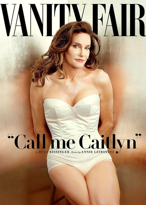 VANITY FAIR: Caitlyn Jenner på coveret av magasinet Vanity Fair.