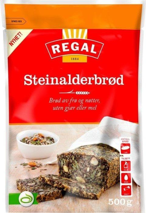 TREKKES: Regals Steinalderbrød tilbakekalles fra markedet da sesamfrøene i blandingen kan inneholde rester av etylenoksid.