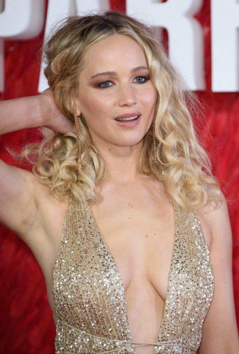 Jennifer Lawrence på premieren for «Red Sparrow».