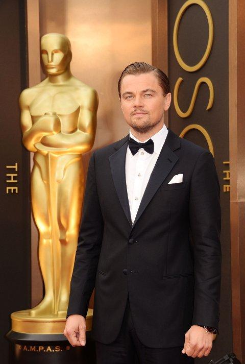 VANT IKKE: Det ble ingen Oscar på Leonardo DiCaprio i år heller.