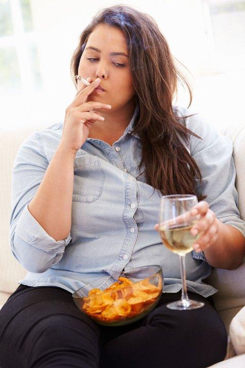 DØR TIDLIGERE: WHO er bekymret over unge i Europas spise, drikke og røykevaner