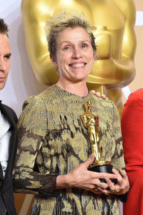 Frances McDormand vant for beste kvinnelige skuespiller under årets Oscar-utdeling.