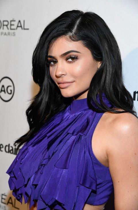 Kylie Jenner under Marie Claire's Image Maker Awards i 2017.