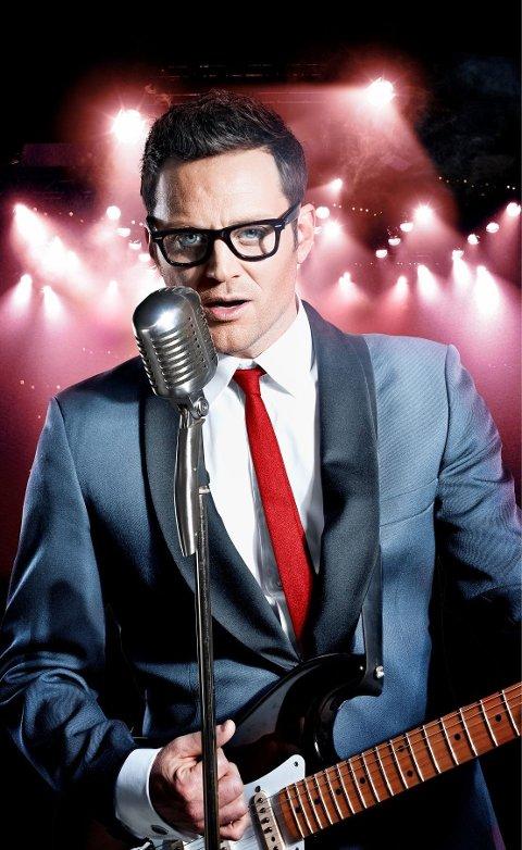 Ekebergbeboer Heine Totland skal nå lære seg å spille gitar skikkelig, så han kan gjøre rollen som Buddy Holly.