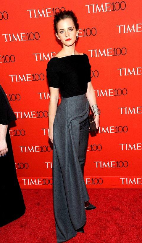 INNFLYTELSESRIK: Emma Watsons engasjement ble hyllet av Time Magazine.
