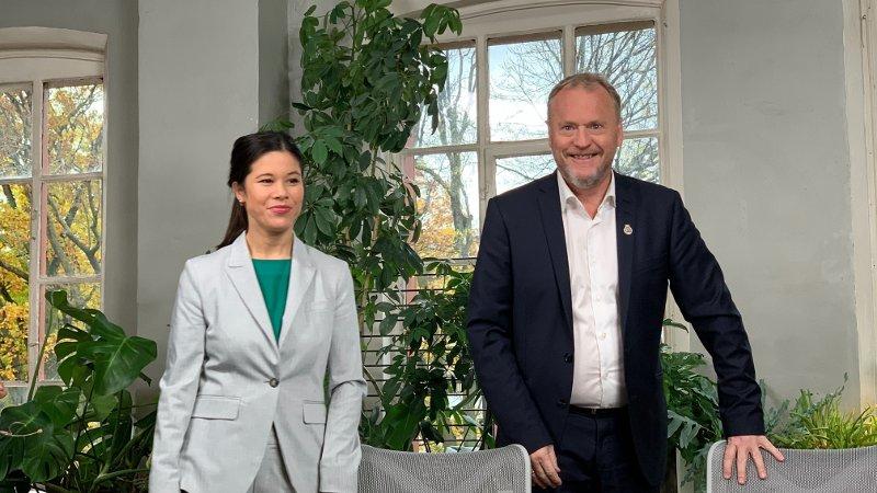 Finansmannen Jan Petter Sissener er kritisk til Lan Marie Berg og Raymond Johansen.