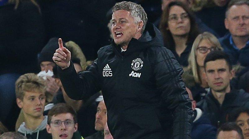 KVARTFINALEKLAR: Ole Gunnar Solskjær og Manchester United er klar for kvartfinale i ligacupen etter 2-1-seier borte mot Chelsea onsdag.