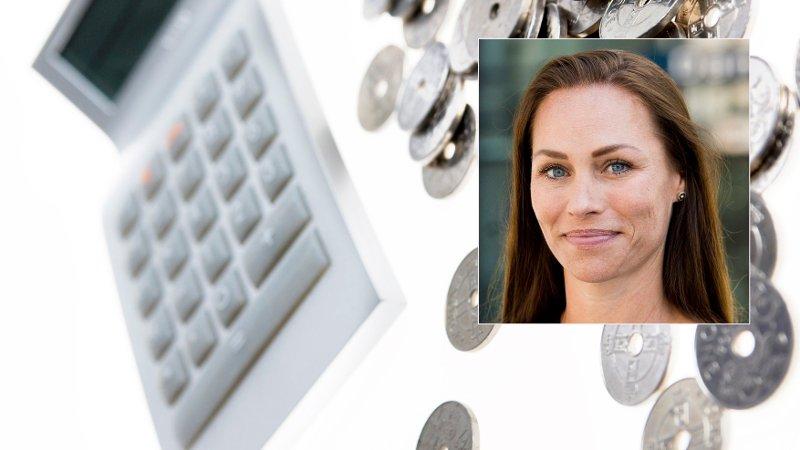 UVISS PENSJON: Åtte av ti vet ikke hva de får. - Det blir viktigere å spare til egen pensjon i årene framover, sier forbrukerøkonom Cecilie Tvetenstrand i Danske Bank.