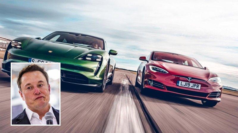 Tesla-sjef Elon Musk er ikke nådige mot Top Gear etter deres sammenligning med Taycan.