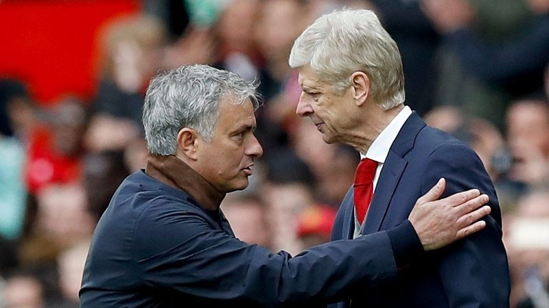 KANDIDATER: Både José Mourinho og Arsene Wenger står for tiden uten jobb.