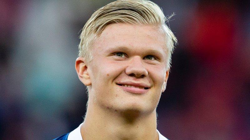 STOR INTERESSE: Det hevdes å være mange klubber som ønsker å signere Erling Braut Haaland.