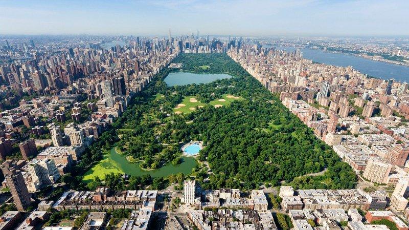 Central Park i New York.