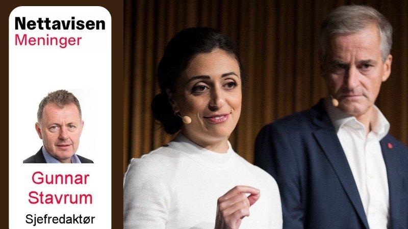 VIGNETTBILDE: Nett på sak om Hadia Tajik og Jonas Gahr Støres forslag til statsbudsjett