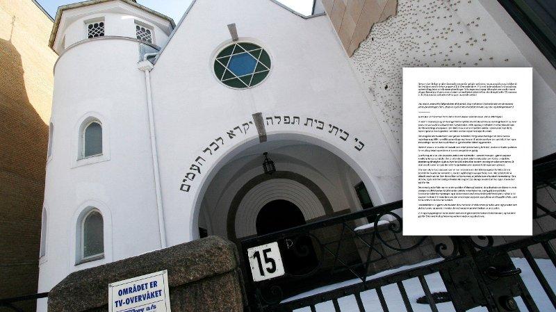Synagogen i Oslo.
