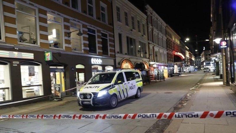 Illustrasjonsfoto: Politibil i Torggata i Oslo.