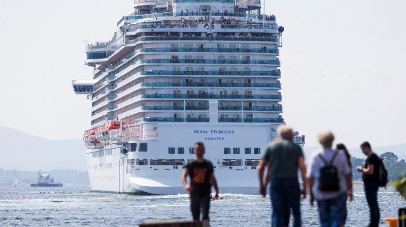 ØNSKER MINDRE AV DETTE: NHO Reiseliv ønske å kutte i cruisetrafikken etter ny rapport om utslipp knyttet til forbruk.