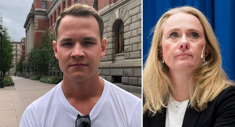 MENER LOVEN ER FEIL: Fredrik Engebakken har vanskelig for å forstå at statsråd Anniken Hauglie mener det er riktig at han skal betale barnebidrag til en mor som har rømt fra Norge med barnet han var tilkjent hovedomsorgen for, og som er siktet for kidnapping av norsk politi.