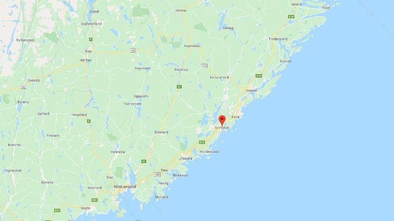 RANSFORSØK: Hendelsen skal ha funnet sted i nærheten av det lokale kjøpesenteret Oddensenteret i Grimstad.
