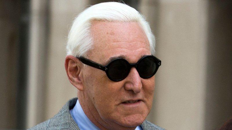USA-president Donald Trumps tidligere rådgiver Roger Stone var tiltalt for å ha påvirket vitner og avgitt falske forklaringer. Foto: AP / NTB scanpix.