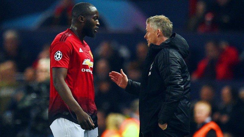 FUNGERTE IKKE: Romelu Lukaku og manager Ole Gunnar Solskjær fikk ikke samarbeidet til å sitte i Manchester United.