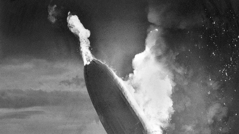 Hindenburg-ulykken.