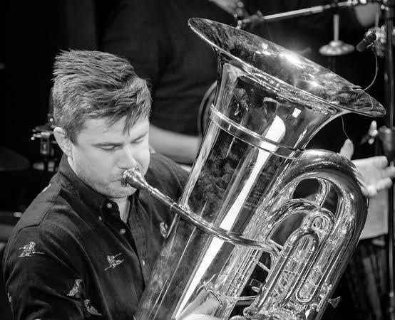 Komponist og tubaist Daniel Herskedal.
