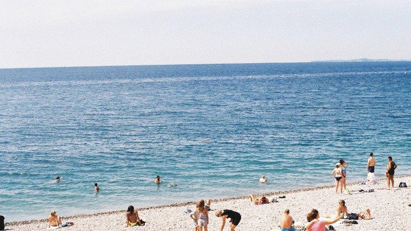 Bilde av en strand