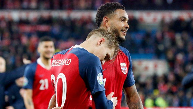 KOMMER DE TIL EM? Martin Ødegaard, Joshua King og det norske landslaget.