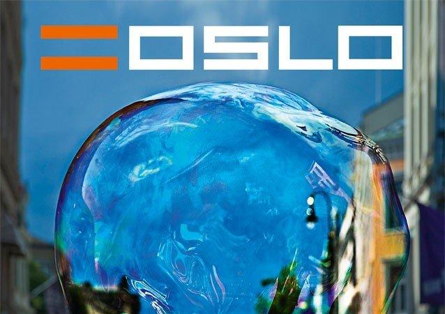 =Oslo er et magasin som selges på gata i Oslo. Illustrasjonsfoto.