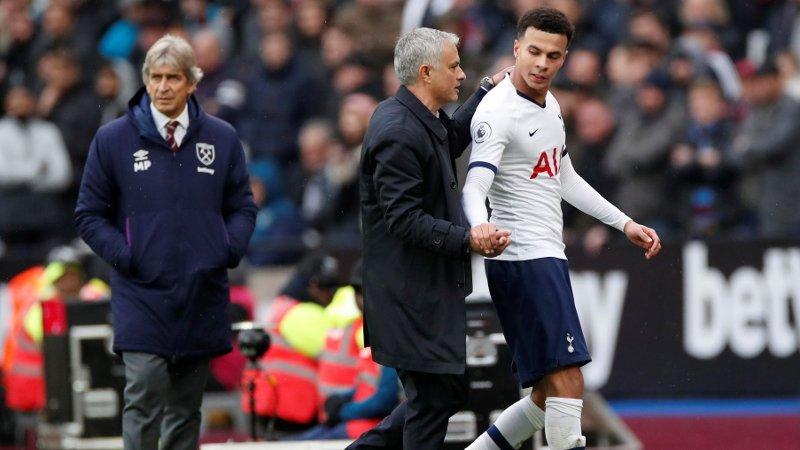 GOD KAMP: Dele Alli var en av Tottenhams desidert beste mot West Ham.