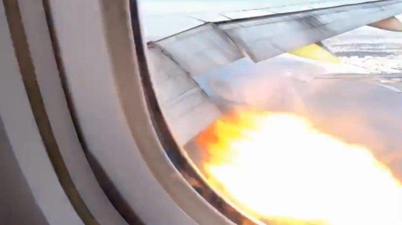Et Boeing 777- fly måtte nødlande da den ene motoren sviktet like etter avgang fra Los Angeles