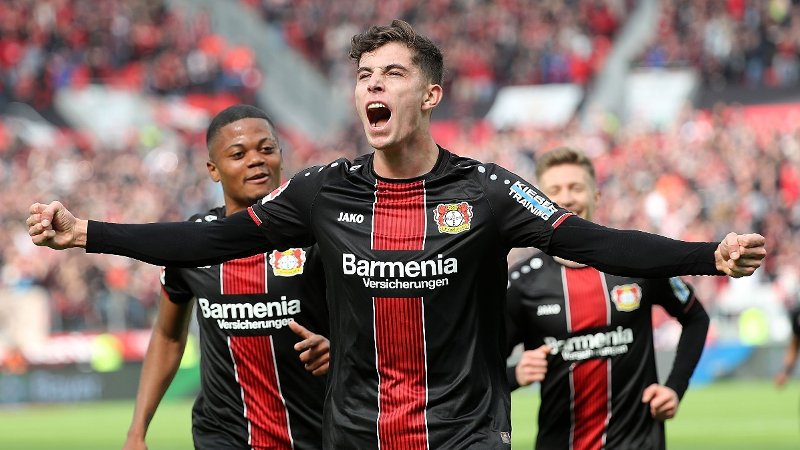 ETTERTRAKTET: Bayer Leverkusen-stjernen Kai Havertz.