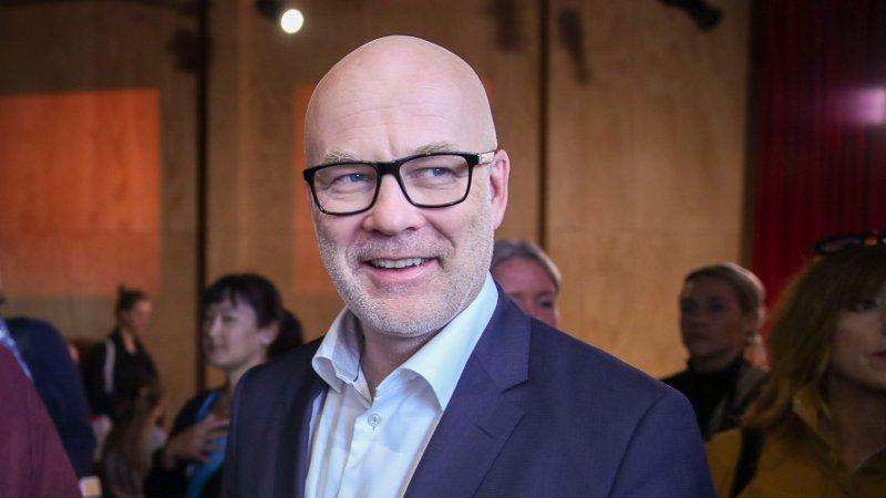 Oslo 20190618. Charlo Halvorsen og Thor Gjermund Eriksen på NRKs høstslipp.