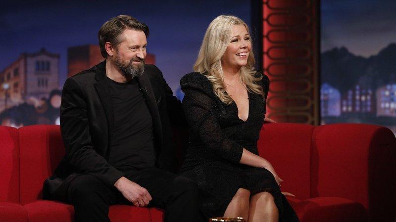 TILBAKE: Thomas Numme er tilbake på TV-skjermen sammen med ingen ringere enn sin egen kone.