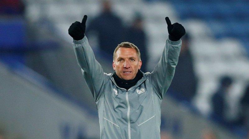 2025: Brendan Rodgers knytter seg til Leicester i flere år.