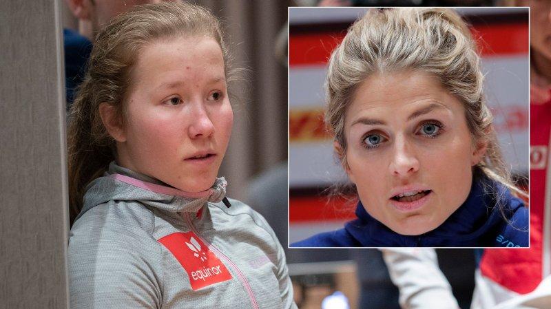 DEBUTANTEN OG FAVORITTEN: Både Helene Marie Fossesholm og Therese Johaug stiller til start på lørdagens skiathlon på Lillehammer.