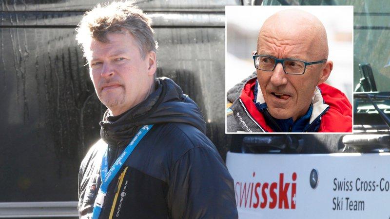 UENIGE: Expressen-kommentator Tomas Pettersson og landslagstrener Ole Morten Iversen.
