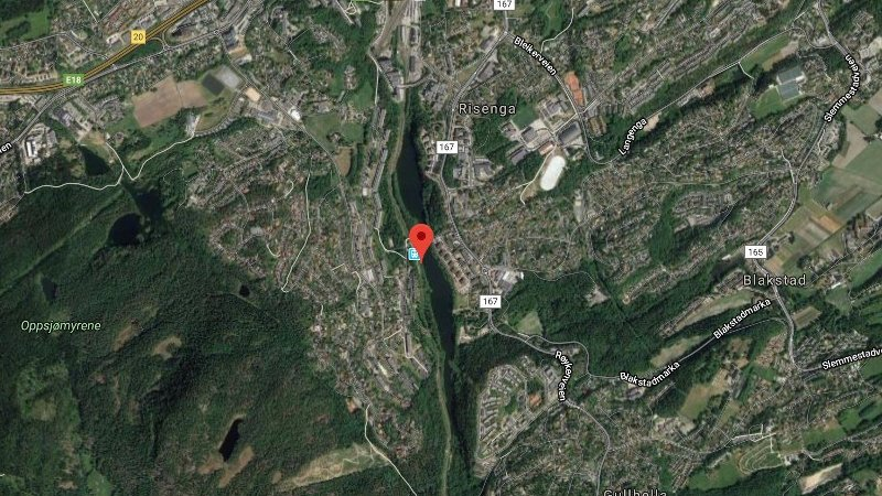 kart over elva