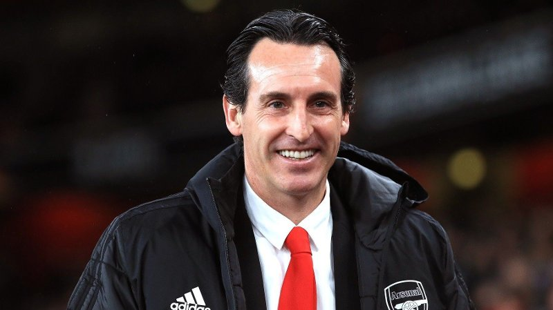 Arsenal v Eintracht Frankfurt - UEFA Europa League - Group F - Emirates Stadium Arsenal manager Unai Emery