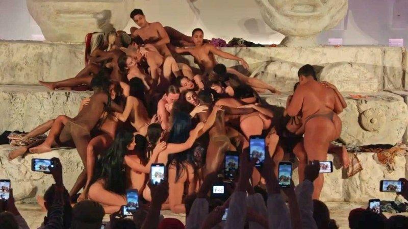 Under Miami Art Basel i helgen deltok Lourdes Ciccone Leo i en «liksom-orgie» sammen med rundt 30 andre personer.