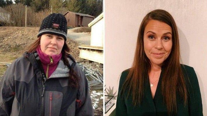 Jeanette Teigland (34) før- og etter- bilder