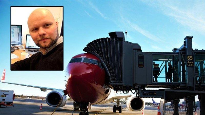 Nyhetsleder Espen Bless Stenberg i Avisa Nordland ønsker Norwegians nye bagasjeregler velkommen.