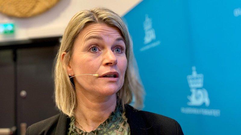 FERSK: Oljedirektør Ingrid Sølvberg hadde knapt vært en uke i sjefsstolen i Oljedirektoratet før hun oppsummerte petroleumsåret 2019. Hun benyttet blant annet anledningen til å mane til en konstruktiv debatt om olje og klima.