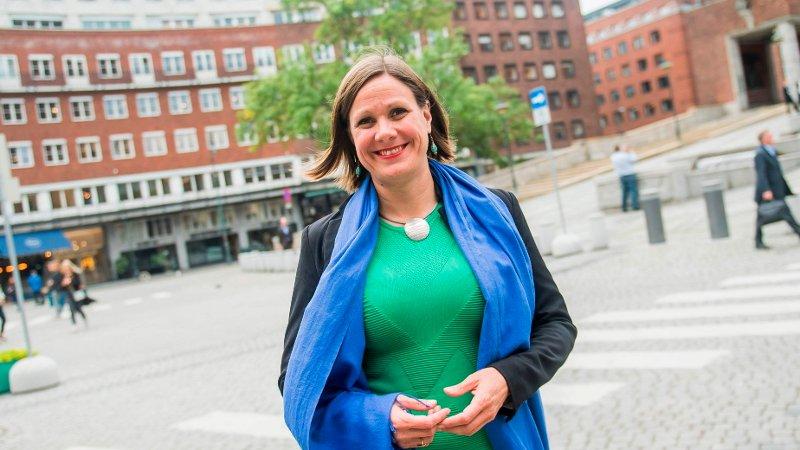 MDG-byråd Hanna Marcussen.