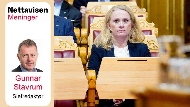 Vignett Nett på sak Anniken Hauglie
