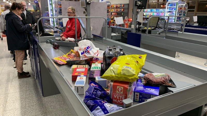 svenskehandel grensehandel harryhandel maximat på Töcksfors shoppingcenter