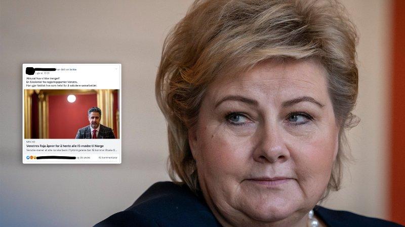 REAKSJONER: Flere tillits- og folkevalgte i Høyre reagerer kraftig på Høyres snuoperasjon i saken om den terrorsiktede IS-kvinnen.